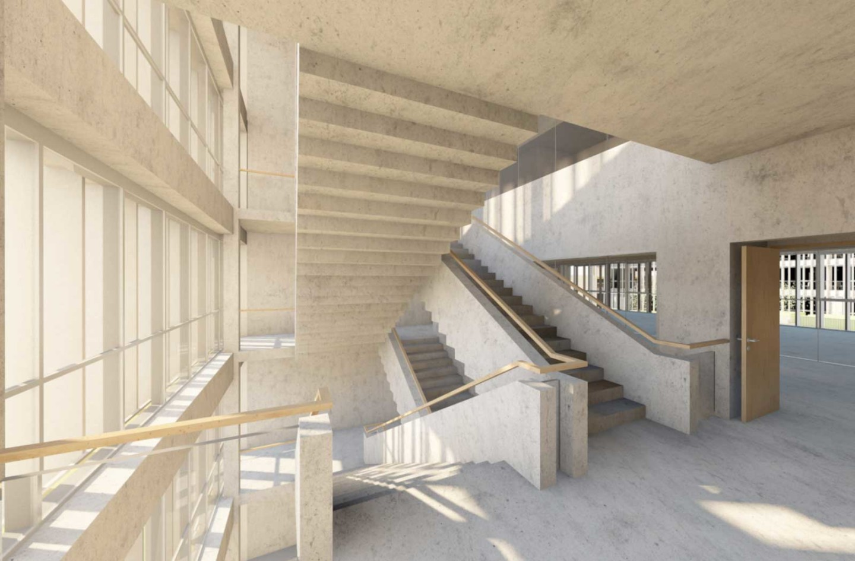 Architecture intérieure du Campus Sud des Métiers