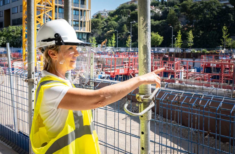 Corinne Vezzoni architecte du Campus Sud des Métiers